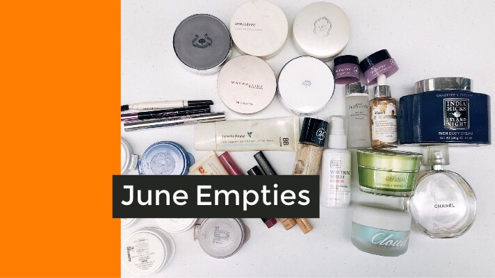 June Empties: Hits, Misses and to Repurchase