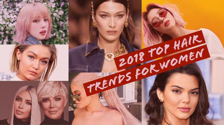 2018 Top Hair Trends for Womenswear