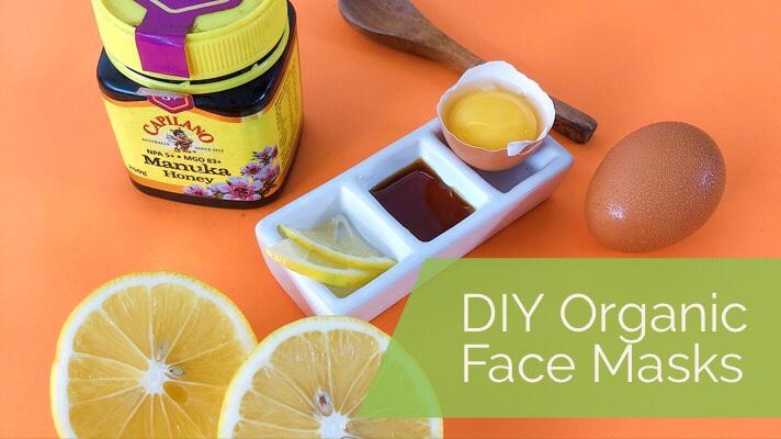 DIY Basic Organic Face MaskRoutine