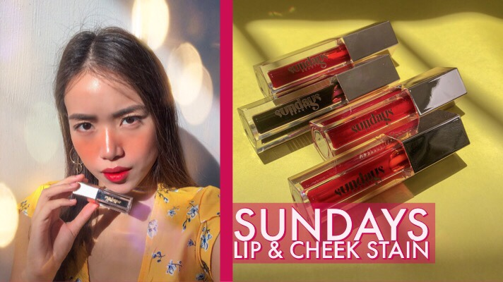 Sundays Beauty Lip Tint Review