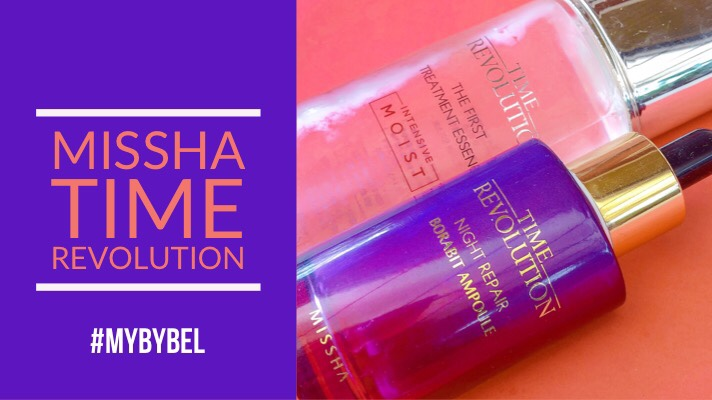 Missha Time Revolution First Treatment Essence + Night Repair Ampoule