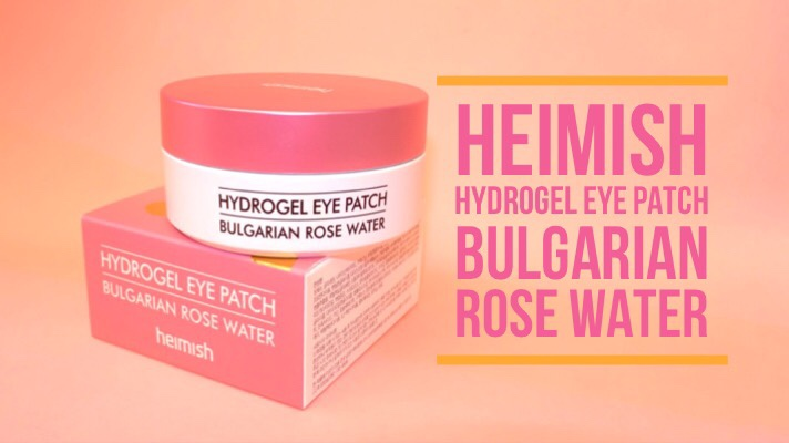 Heimish Hydrogel Eye Patch Bulgarian Rose Water Review